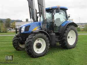 tracteur New Holland TS135A