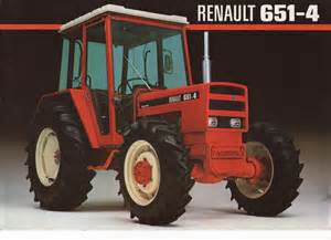 tracteur Renault 651