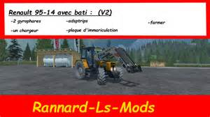 tracteur Renault 95-14 TX