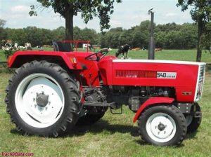 tracteur Steyr 540