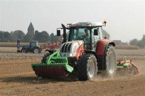 tracteur Steyr 6195 CVT
