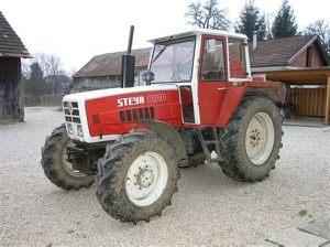 tracteur Steyr 8100