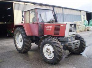 tracteur Steyr 8140