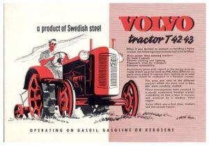 tracteur Volvo T42