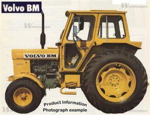 tracteur Volvo T500