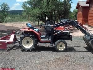 tracteur Yanmar F145