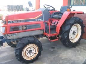 tracteur Yanmar FX215