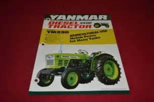 tracteur Yanmar YM330