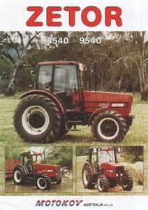 tracteur Zetor 10045