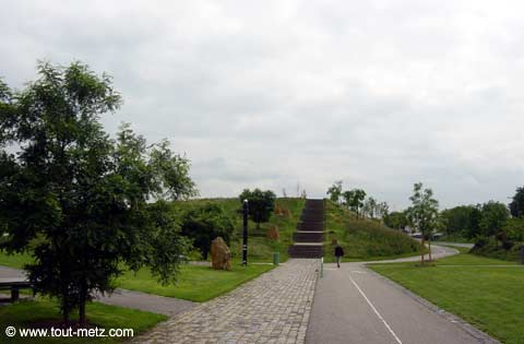 Parc de la Seille à Metz promontoire 2