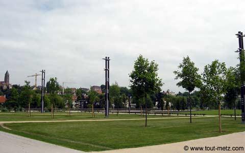 Parc de la Seille à Metz milieu 3