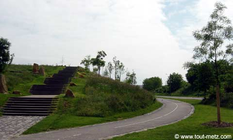Parc de la Seille à Metz acces 2