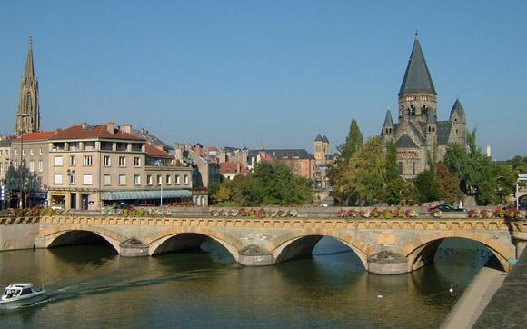 Metz Moyen Pont des morts