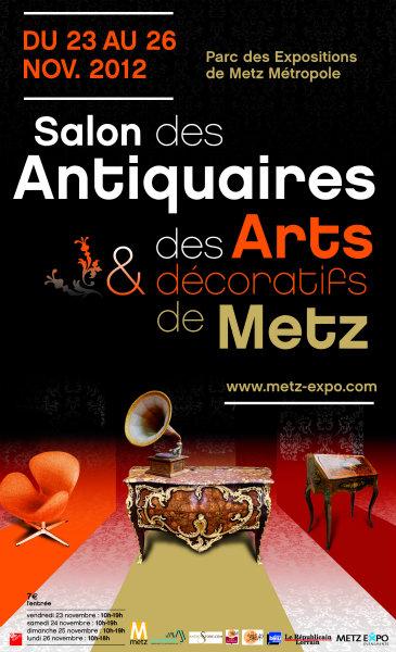 Salon antiquaires et arts dcoratifs  Metz 2012