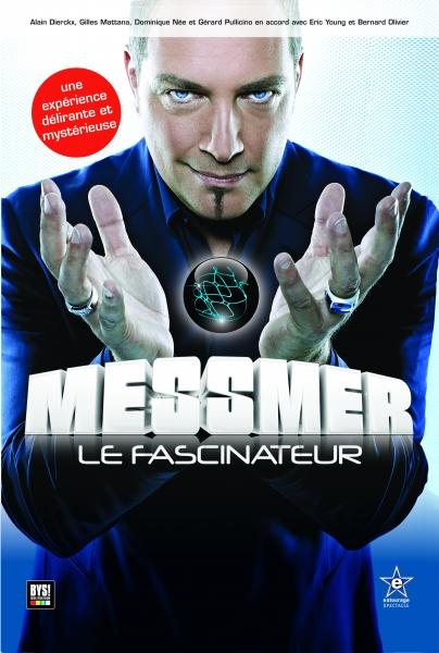 Affiche de la tournée de Messmer