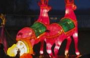 Photo reportage : le sentier des lanternes de Noël à Metz