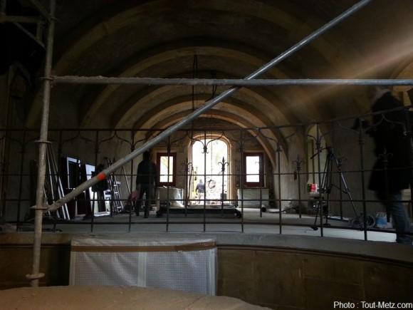 """La """"petite salle"""" de la porte des allemands. Photo : Tout-Metz.com"""