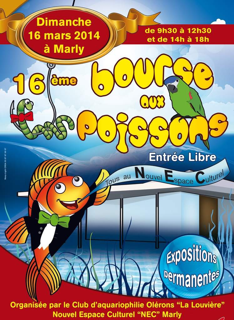 Marly Moselle: Bourse Aux Poissons Marly 2014
