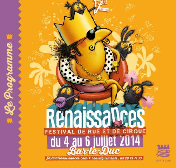 Affiche du festival RenaissanceS, à Bar-leDuc,  source : www.festivalrenaissances.com