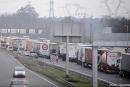 Manifestation des chauffeurs routiers : un barrage filtrant au péage de Saint-Avold