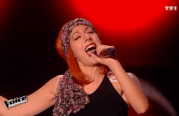 June, la candidate mosellane, enflamme la scène de The Voice