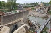 Le pont Lothaire n'existe plus (photos)