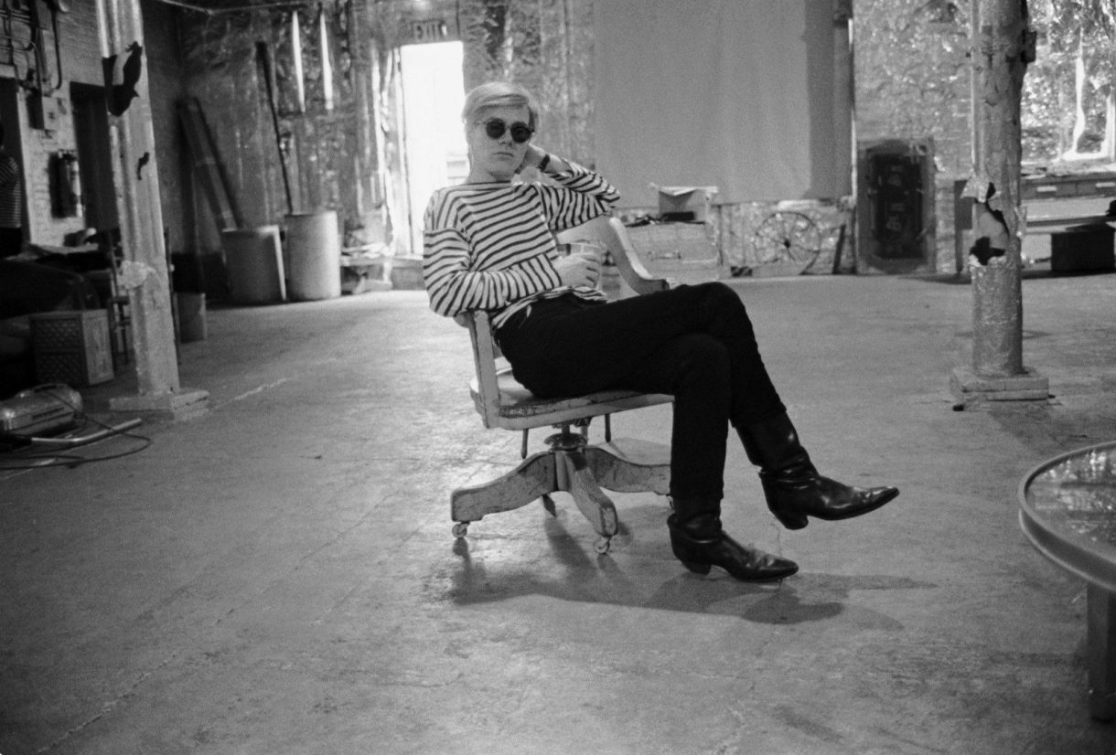 Stephen Shore, Andy Warhol, the Factory, NYC, 1965-1967