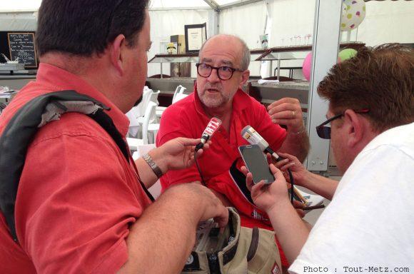 Philippe Buron-Pilâtre présente le bilan de l'édition 2015 du Lorraine Mondial Air Ballons