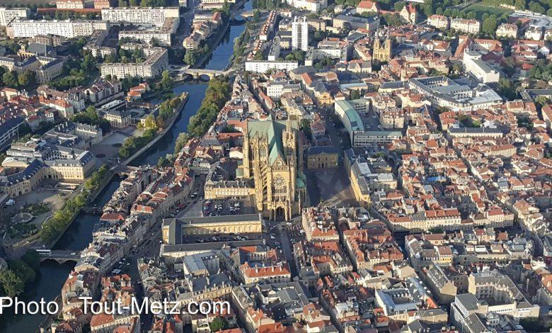 Photo of Photos : voler au-dessus de Metz en montgolfière…