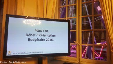 Photo of Débat d'orientation budgétaire : baisse des dépenses et pas de hausse d'impôts à Metz prévues en 2016