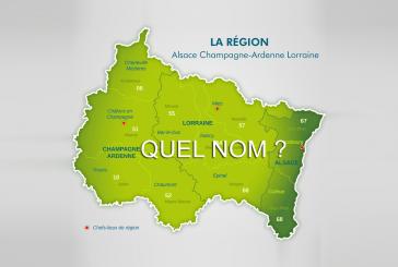 Nom de la région : les 3 dernières propositions ont été sélectionnées, les voici