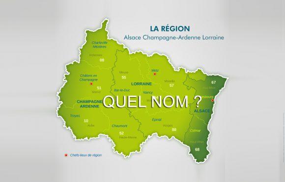 Quel nom pour la région ? Carte : préfecture du Bas-Rhin