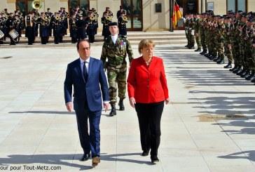 Conseil des ministres Franco-Allemand à Metz :