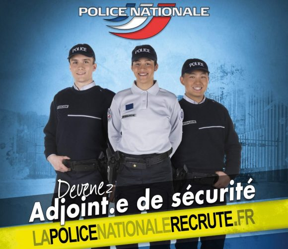 Affiche : Police Nationale