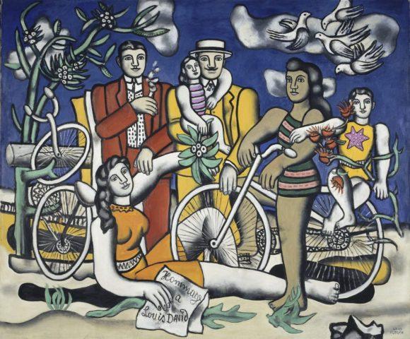 Crédit photo Pompidou Metz - Fernand Léger, Les Loisirs-Hommage à Louis David, 1948 - 1949