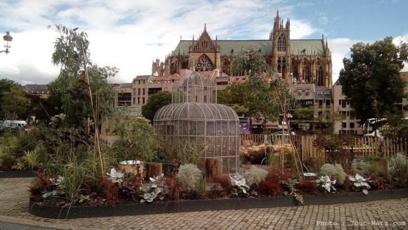 Jardin éphémère de Metz