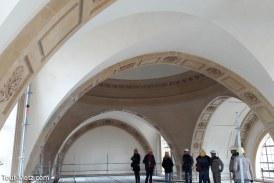 Restauration des voûtes de la chapelle des Petits-Carmes à Metz : un travail d'orfèvre vient de s'achever (photos avant/après)