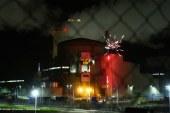 Cattenom : un feu d'artifice tiré dans la centrale nucléaire par Greenpeace (vidéo)