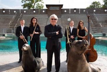 Répétition de l'Orchestre national de Lorraine au zoo d'Amnéville (vidéos)