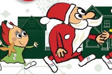 Forbach : une course de Pères et Mères Noël pour la bonne cause