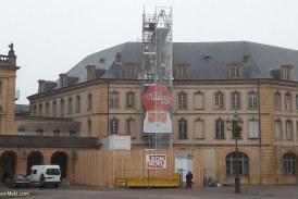 Les toits de l'Opéra-théâtre de Metz faiblissent : photos