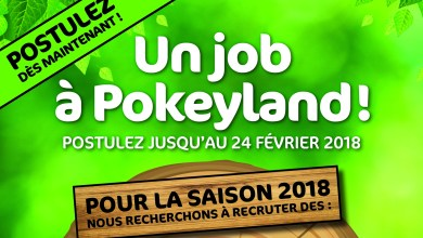 Photo of 80 emplois à pourvoir au parc Pokeyland avant le 24 février 2018