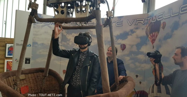 Photo of Vol virtuel en montgolfière : nouvelle animation à l'aérodrome de Chambley