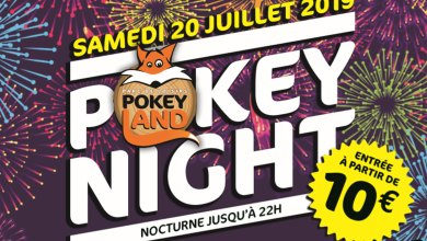 Photo of Pokey'night à Fey : 1ère nocturne de l'été pour le parc Pokeyland