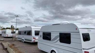 Photo of Les gens du voyage s'installent sur un parking à Marly