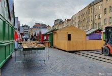 Photo of Metz : les chalets de Noël s'installent (photos)