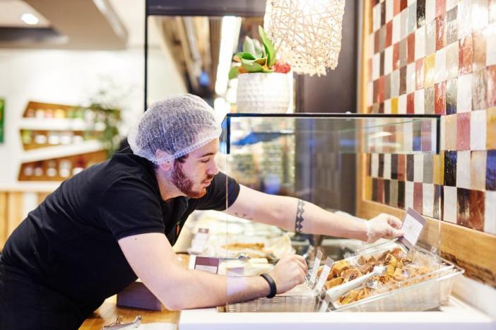 Где поесть в Антверпене: фастфуд EXKi