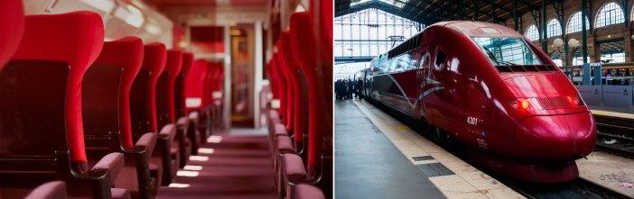 В Париж из Амстердама на Thalys