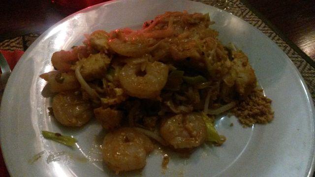 Yukulele Pad Thaï with shrimps