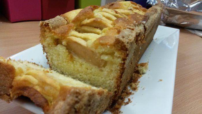 Le cake aux pommes qui déchire